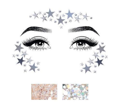 Leg Avenue - Face Jewels (Clear)