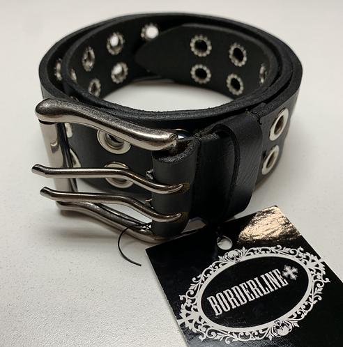 Borderline - Silver Gromet Belt