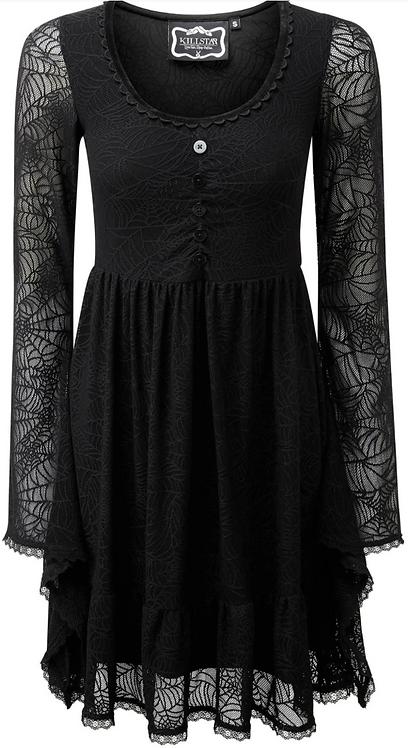 Killstar - Casket Cutie Web Dress [B]