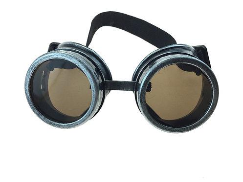 KBW - Silver Steampunk Goggles