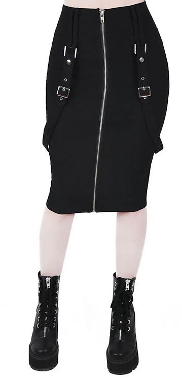 Killstar - Force Field Pencil Skirt