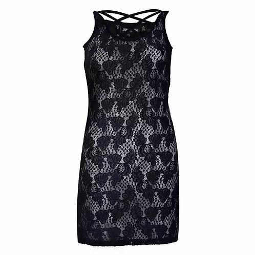 Jawbreaker - Lace Cross Front Dress