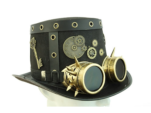 KBW - Steampunk Hat with Goggles