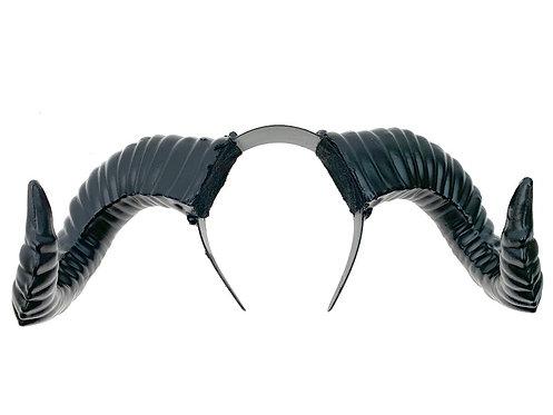 KBW - Black Horned Headband