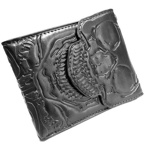 Kreepsville 666 - Skull Ribcage B-Fold Wallet