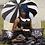 Thumbnail: Sourpuss - Pagoda Umbrella Black/White