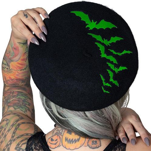 Kreepsville 666 - Bat Repeat Green Beret Hat