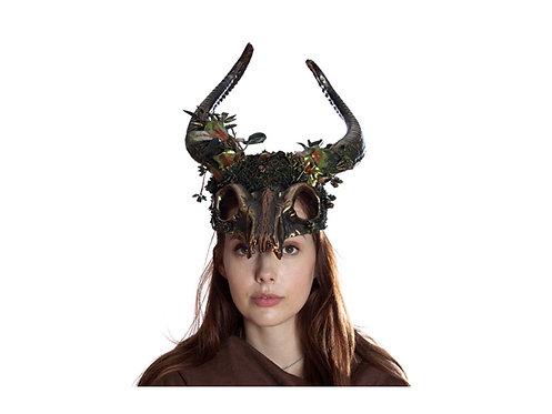 KBW - Ancestral Demon Mask with Horn