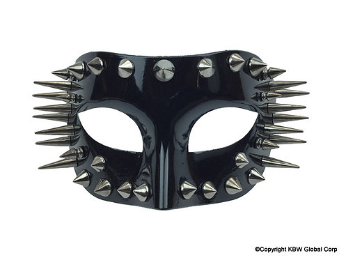 KBW - Spiked Masquerade Half-Mask