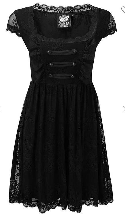 Killstar - Sacramental Lace Dress