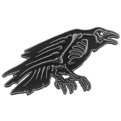 Kreepsville 666 - Skelli Bones Raven Patch