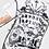 Thumbnail: Jawbreaker - Ouija Print Clear Raincoat