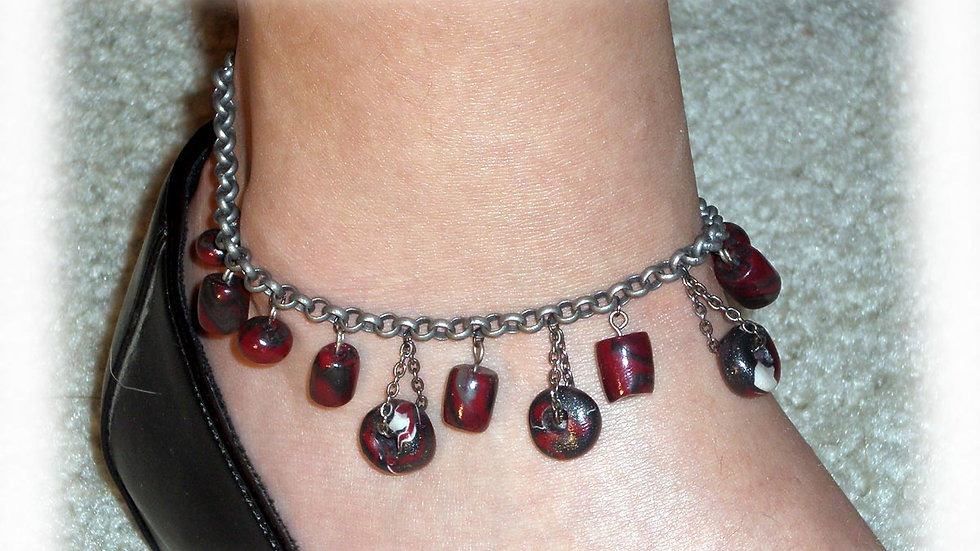 Red-brown beads