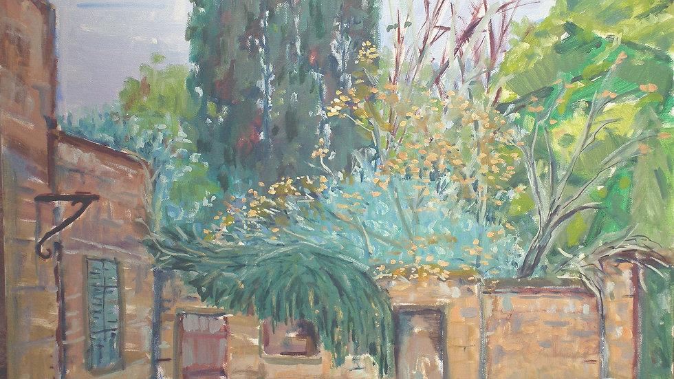 Tiberias backyard