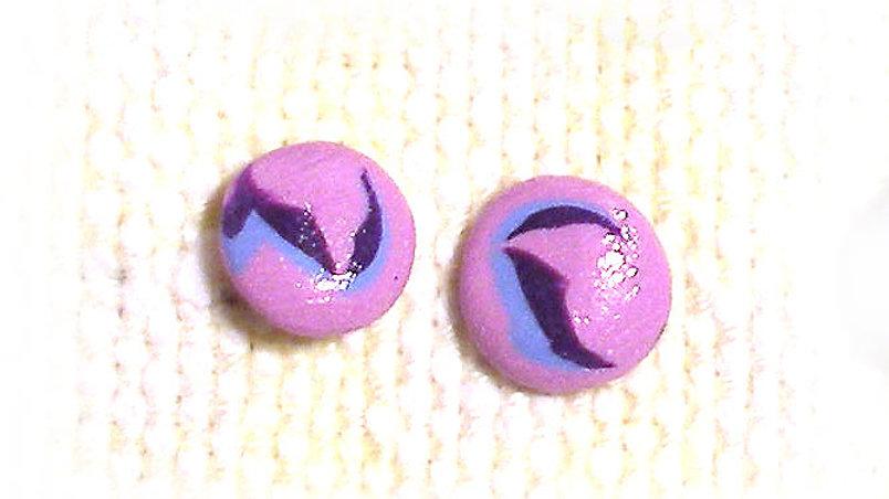 Ear-pins Pink