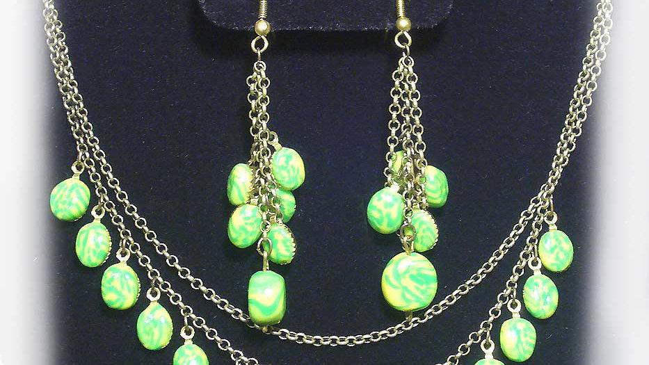 Green droplets