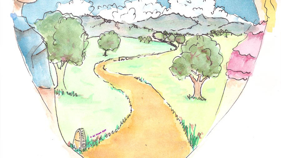Wedding-mess path