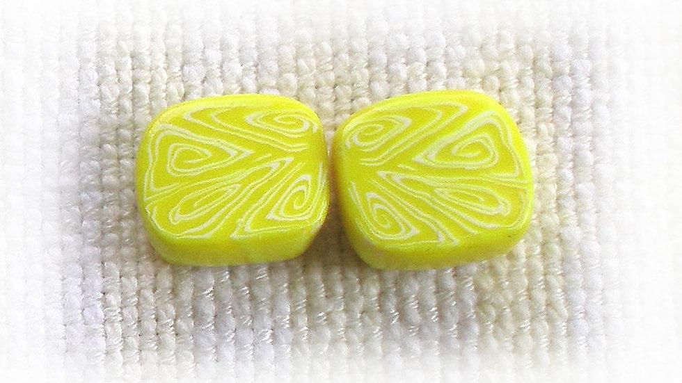 Lemon-yellow marble