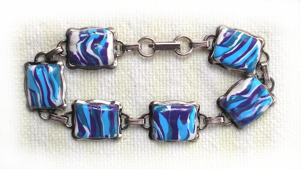Blue tones beads