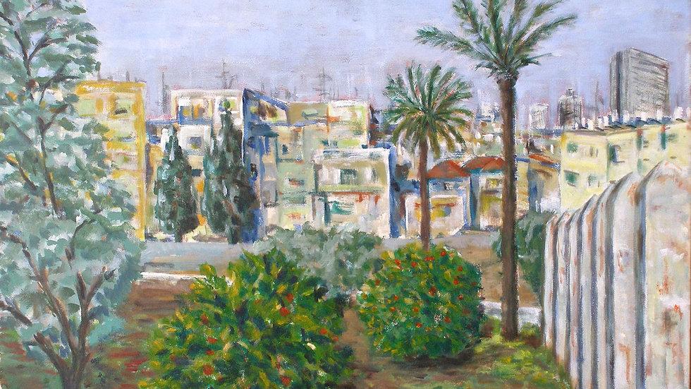 Tel Aviv view rom Jaffa