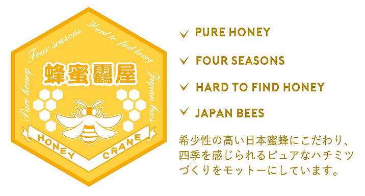 """日本蜜蜂にこだわる生ハチミツ""""貴和蜜"""""""