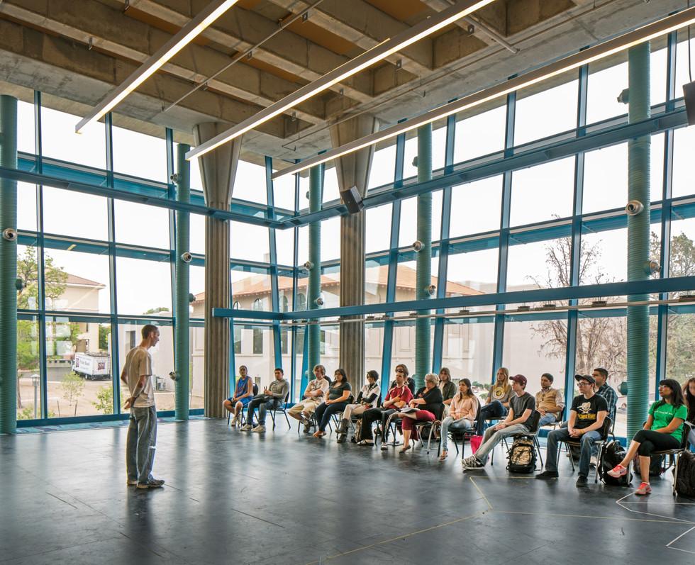 Hershel Zohn Rehearsal Hall | New Mexico State University Center for the Arts