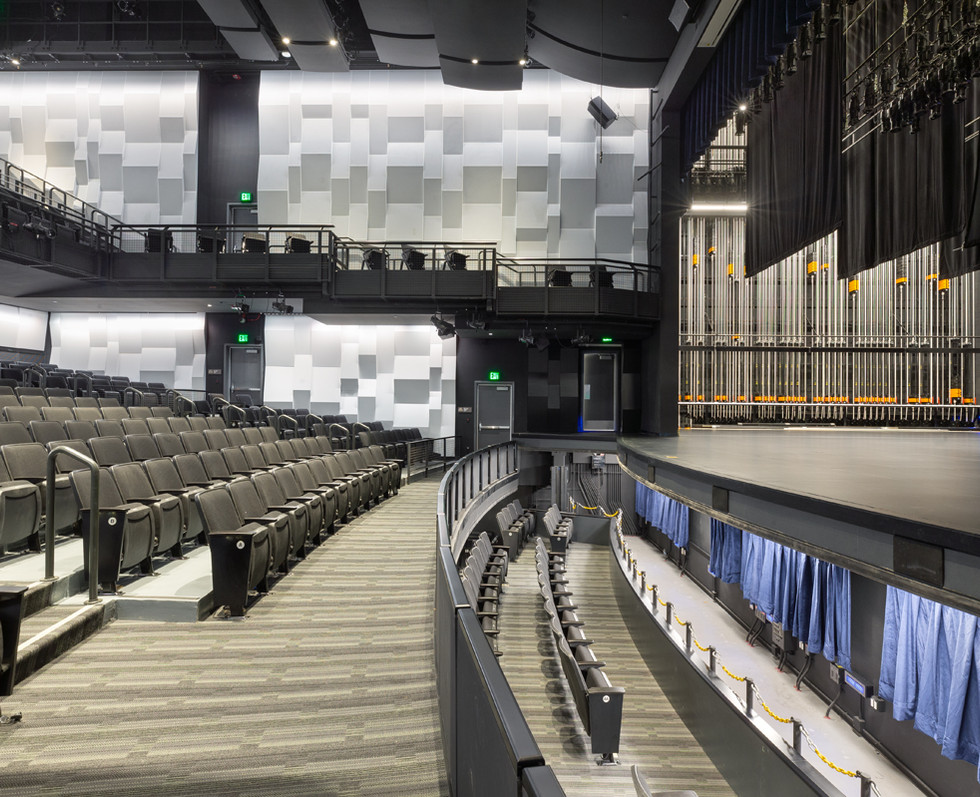 Performing & Visual Arts Center | Grossmont College | Stage & Orchestra Pit