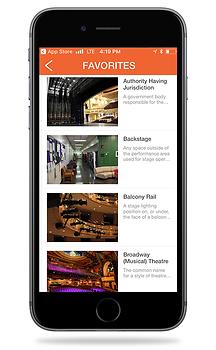 TheatreDNA App | Favorites