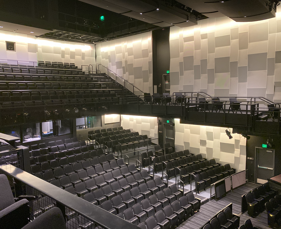 Performing & Visual Arts Center | Grossmont College | View to Auditorium
