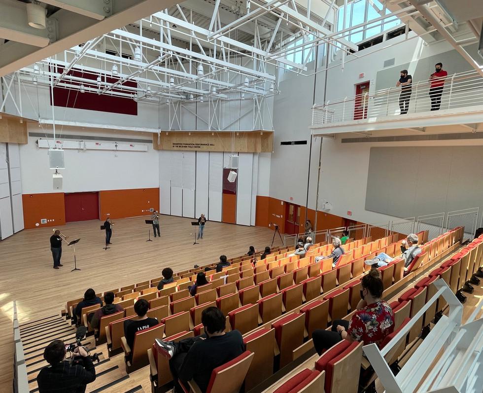 Recital Hall   Beckmen YOLA Center