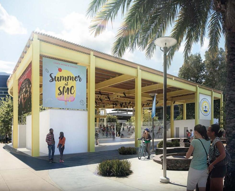 Amphitheatre Study   Santa Monica College