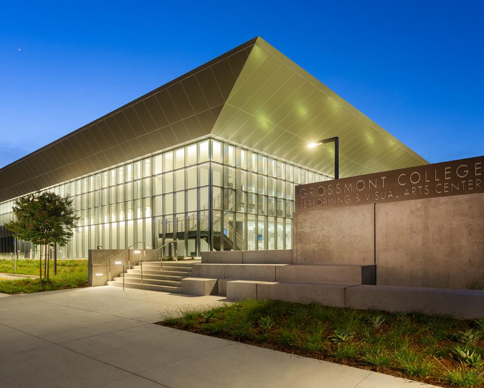 Performing & Visual Arts Center | Grossmont College | Exterior