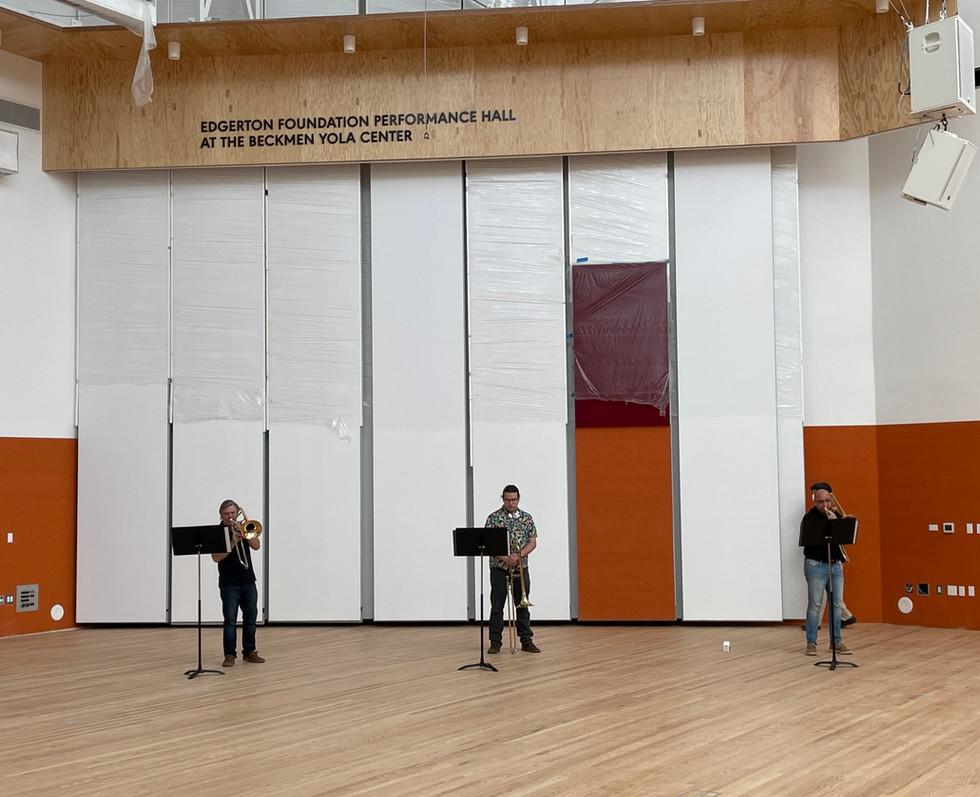 Rehearsal Halls   Beckmen YOLA Center
