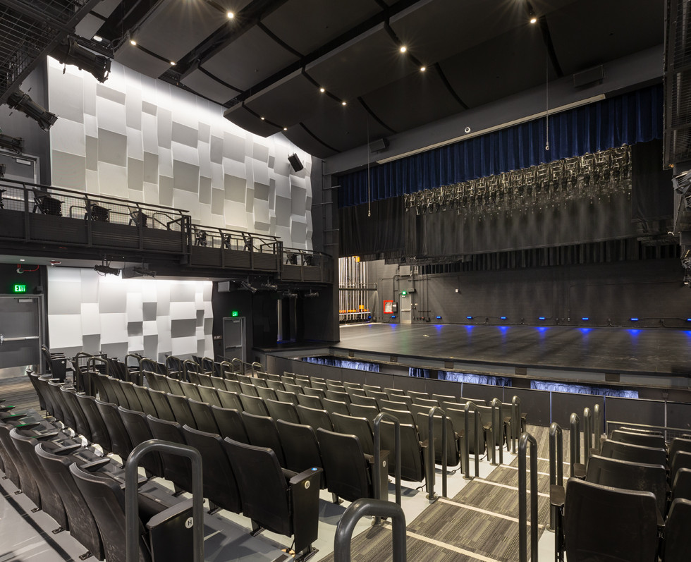 Performing & Visual Arts Center | Grossmont College | View to Stage