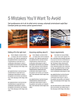 5 Costly Venue Design Mistakes Download
