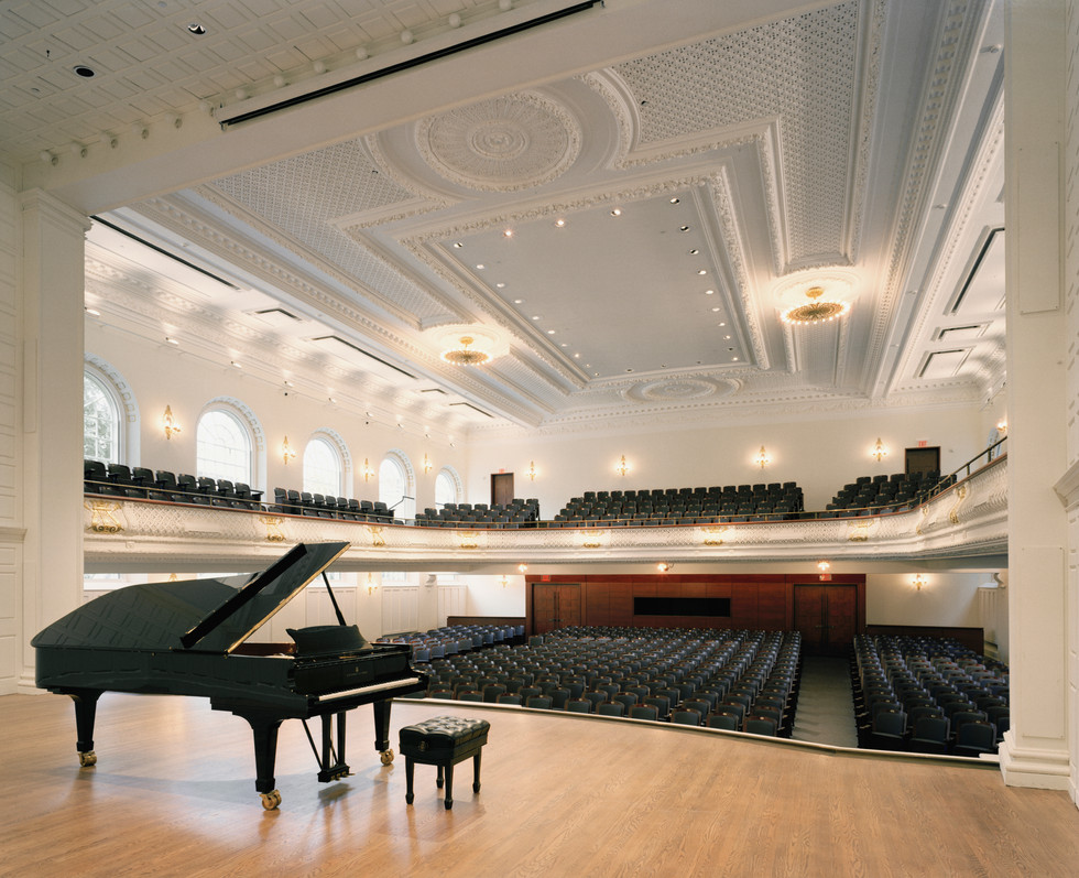 Morse Recital Hall   Yale University Sprague Hall