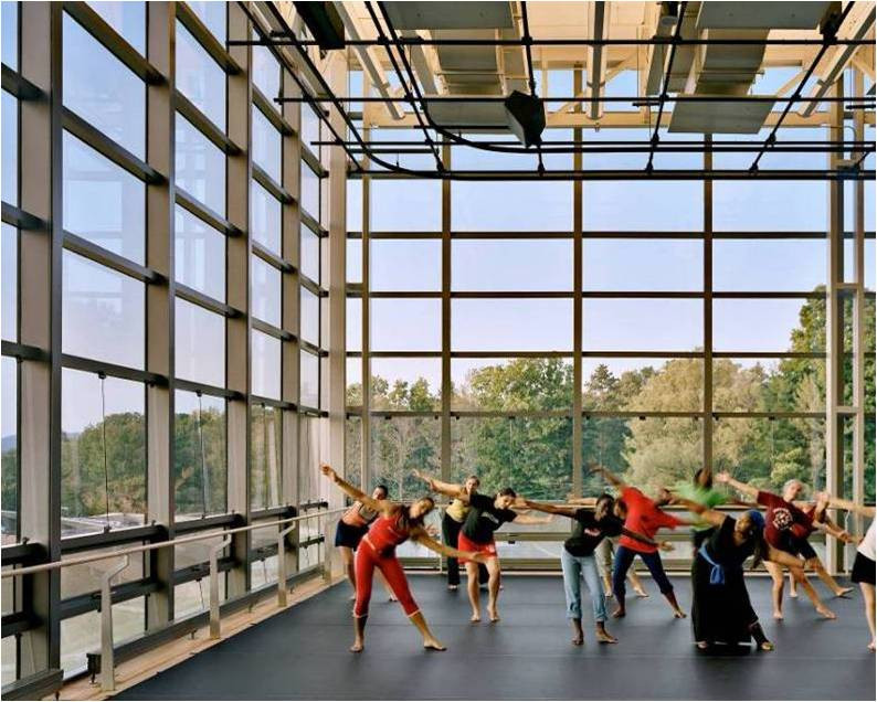 Dance Rehearsal Hall | 62 Center for Theatre & Dance