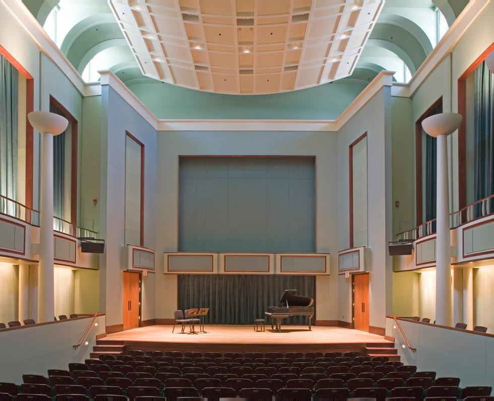 Gore Recital Hall | University of Delaware Roselle Center for the Arts