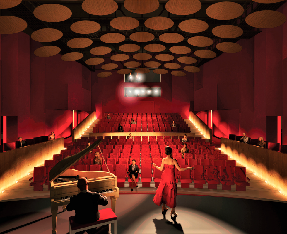 Don Powell Theatre | San Diego State University Arts District