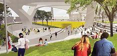 Sixth Street Viaduct Arts Plaza