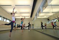 Burgin Center Dance Rehearsal Studio