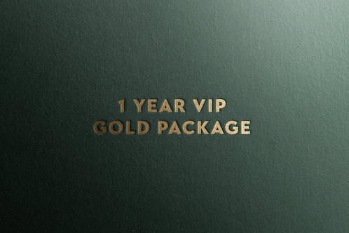 1 Year VIP Gold Package