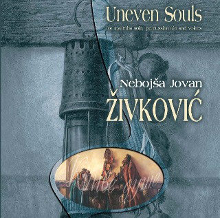 UNEVEN SOULS,  for marimba solo, voices and percussion trio score and parts