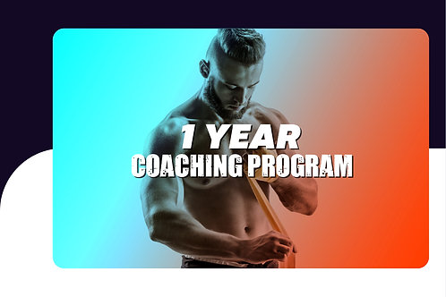 1 Year Online Coaching