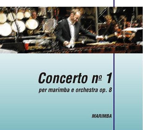 CONCERTO NO. 1 FOR MARIMBA & ORCHESTRA Op. 8 (Partitura)