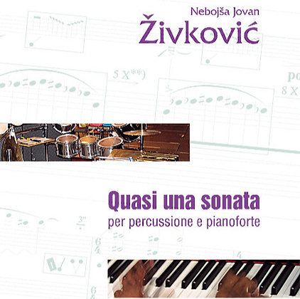 QUASI UNA SONATA  for percussion and piano op. 29