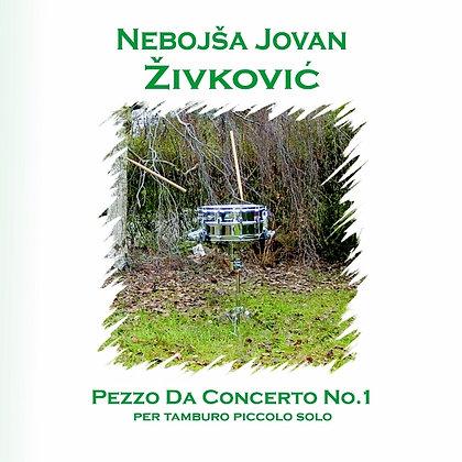 PEZZO DA CONCERTO for snare drum solo