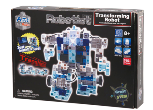 "Artec Blocks Robo ""Robotist"" Transforming Robot"