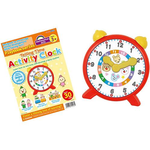 時間幾點鐘 Telling Time Activity Clock ( FOR 3+ )