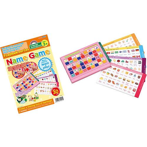 認知遊戲板 Name Game Quiz Board ( FOR 3+ )